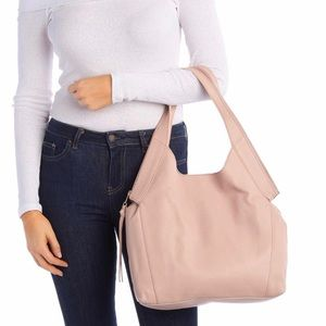Kooba • genuine leather hobo bag